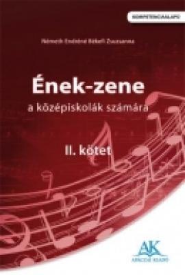 Ének-zene a középiskolák számára II. kötet