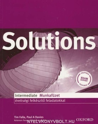 Solutions Pre-Intermediate Munkafüzet