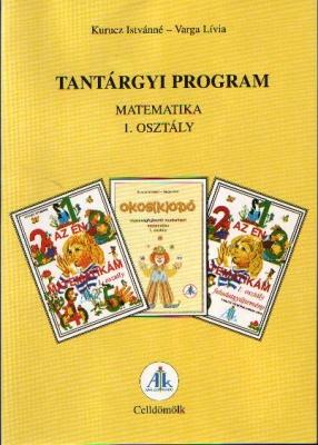 Tantárgyi program matematika 1. o.
