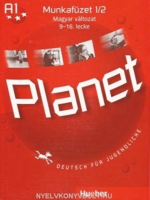 Planet 1/2 munkafüzet, magyar változat, 9-16. lecke