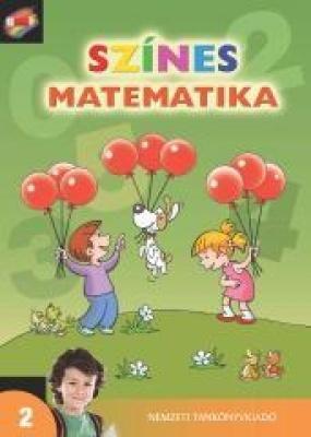 Színes matematika Tankönyv 2.o. 1 kötet