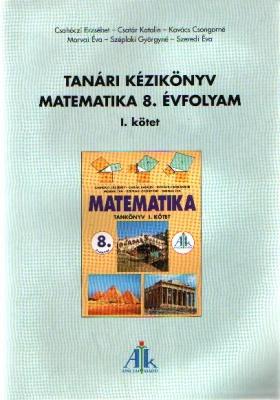 Kézikönyv Matematika I. 8. o.