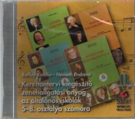 Kerettantervi zenehallgatási anyag 5-8. o. CD