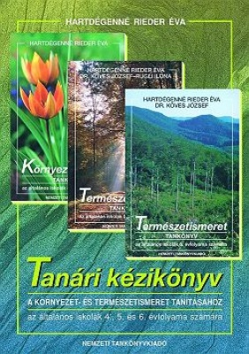 Tanári kézikönyv a 4-5-6. évfolyamos természetismeret tanításához
