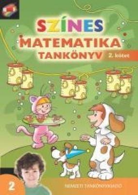 Színes matematika Tankönyv 2.o. 2 kötet