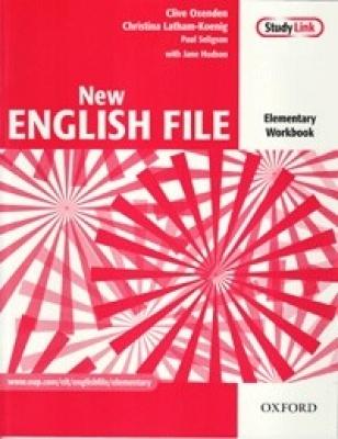 New English File Elementary Munkafüzet CD melléklettel