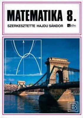 Matematika 8. tankönyv bővített, keménytáblás