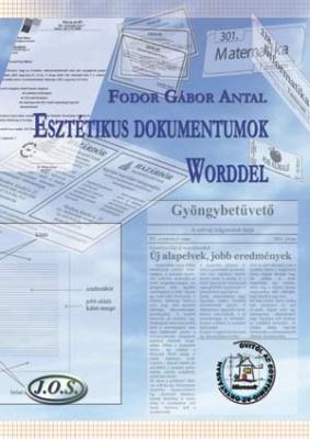 Esztétikai dokumentumok Worddel