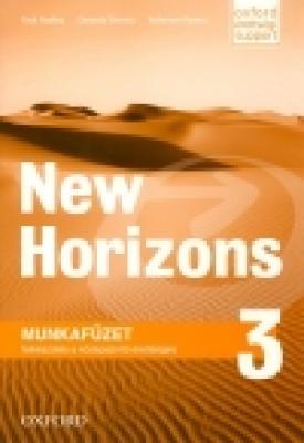 New Horizons 3 Munkafüzet