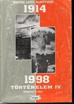 1914-1998 Történelem IV