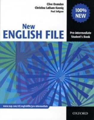 NEW ENGLISH FILE PRE-INTERMEDIATE SB