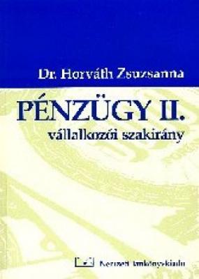 Pénzügy II. - vállalkozói szakirány (átdolgozott)