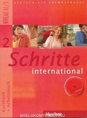 Schritte international 2 tankönyv és munkafüzet