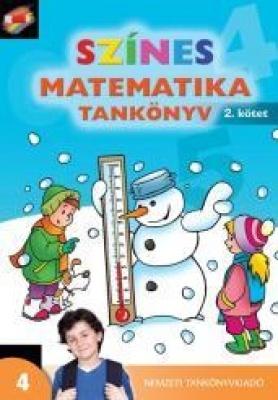 Színes matematika Tankönyv 4. osztály 2. kötet