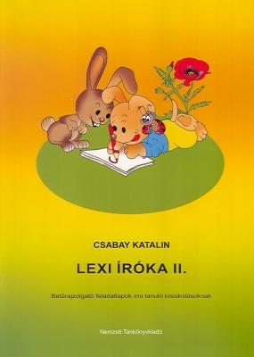 LEXI íróka II. Betűvázoló mesetankönyv 6-8 éveseknek
