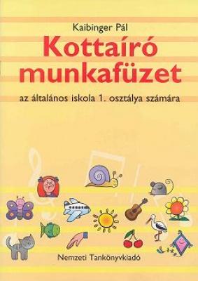 Kottaíró munkafüzet 1.o.