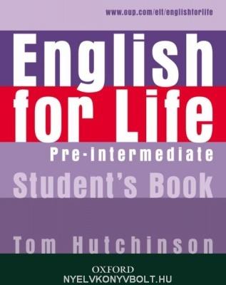 ENGLISH FOR LIFE PRE-INTERMEDIATE SB