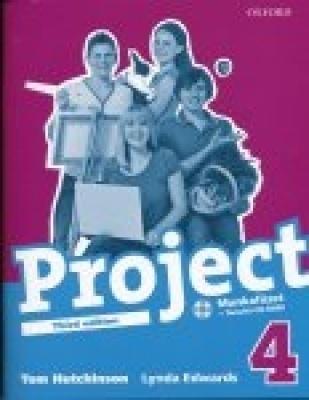 Project 4 Third edition Munkafüzet +Tanulói CDROM