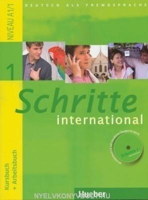 Schritte international 1 tankönyv és munkafüzet