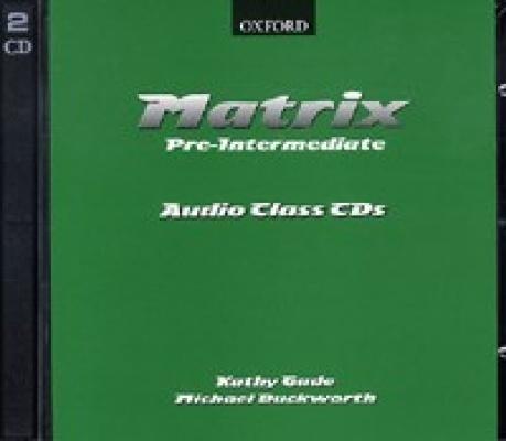 Matrix Pre-Intermediate CD