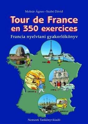 Tour de France en 350 exercises-nyelvtani gyakorlókönyv