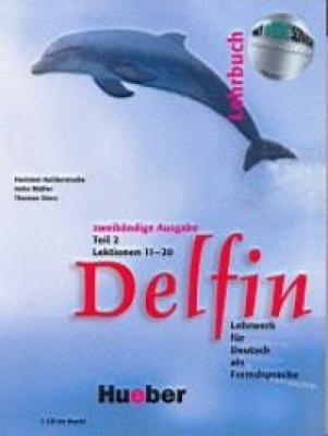 Delfin 2. Lektionen 11-20. Tankönyv és 1 audio-CD.