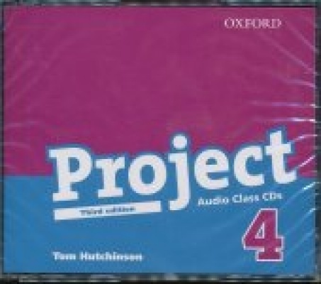 Project 4 Third edition Class Audio CDs