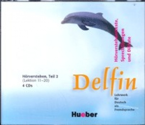 Delfin 2. Lektionen 11-20. Audio-CD