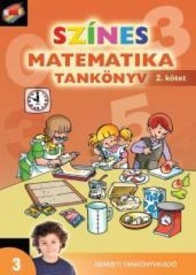Színes matematika Tankönyv 3. osztály 2. kötet