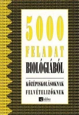 5000 feladat biológiából