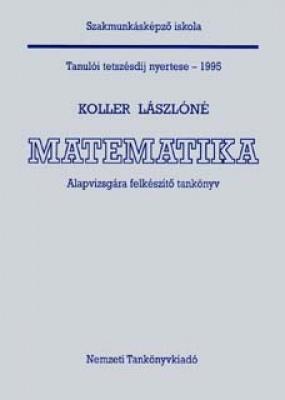 Matematika alapvizsgára felkészítő tankönyv