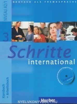 Schritte international 3 Kursbuch + Arbeitsbuch