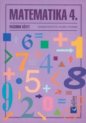 Matematika 4/II tankönyv