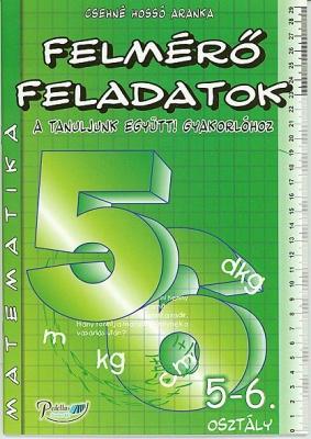 Matematika felmérő feladatok 5-6. osztály