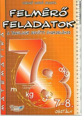 Matematika felmérő feladatok 7-8. osztály