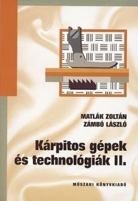 Kárpitos gépek és technológiák II.