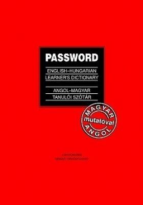 Password angol-magyar tanulói szótár