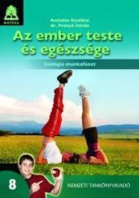 Biológia 8. Az ember teste és egészsége munkafüzet