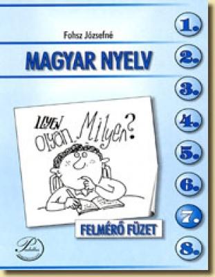 Magyar nyelv felmérő füzet
