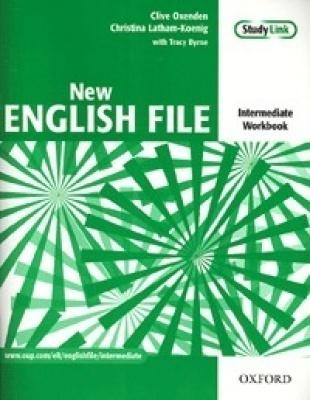 New English File Intermediate Munkafüzet érettségi feladatokkal és CD melléklettel