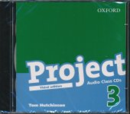 Project 3 - Third Edition Class Audio CDs (2)