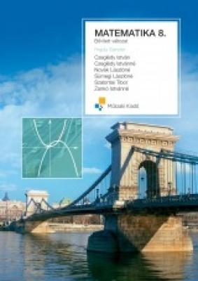 Matematika 8. Tankönyv, bővített változat (keménytáblás)