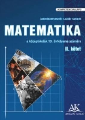 Matematika a középiskolák 10. évfolyama számára II. kötet