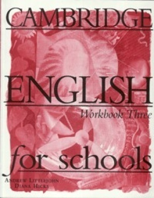 Cambridge English for Schools 3. Workbook