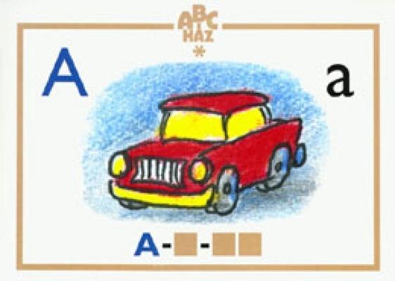 ABC-ház Betűtábla-készlet