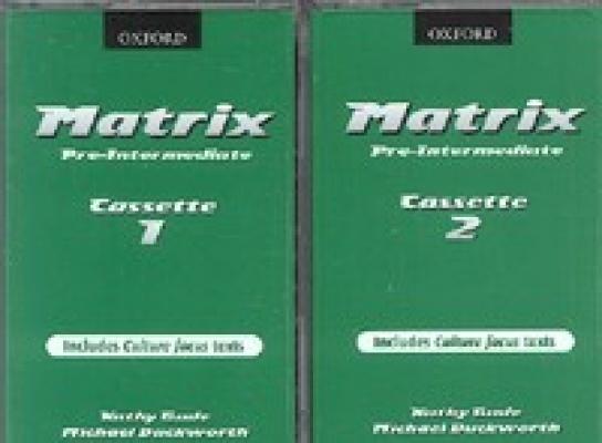 Matrix Pre-Intermediate Cassette