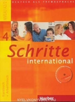 Schritte international 4 Kursbuch + Arbeitsbuch