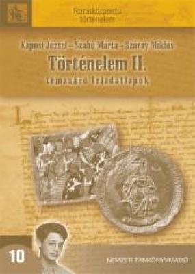 Történelem II. témazáró feladatlapok
