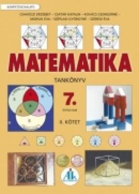 Matematika tankönyv 7. II. kötet Kompetenciaalapú