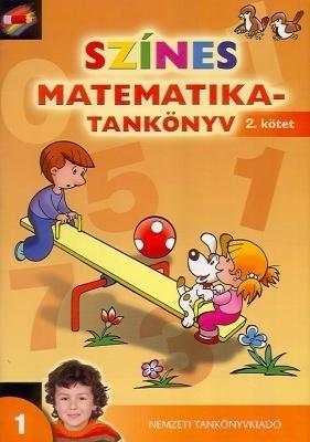 Színes matematika-tankönyv 2. kötet 1. osztály